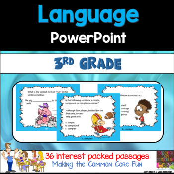 3rd Grade Language PowerPoint
