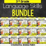 3rd Grade Language Skills Bundle, Language: Conventions of