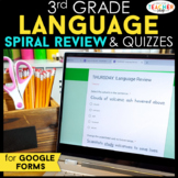 3rd Grade Language Spiral Review DIGITAL | Google Classroo