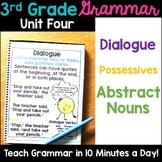 3rd Grade Language Unit Four {aligns to L.3.1.C, L3.2.D, L.3.2.C}