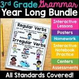 3rd Grade Language -Year Long Bundle {Covers all 3rd Grade Language Standards}