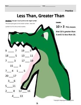 3rd Grade Less Than, Greater Than  Mathematics