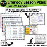 3rd Grade Literacy Lesson Plans