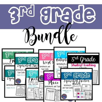 3rd Grade Lessons (Growing BUNDLE)