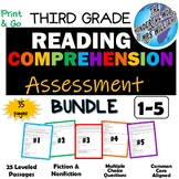 DISTANCE LEARNING - 3rd Grade Reading Comprehension Assess