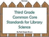 3rd Grade Library Science Common Core Standards with References