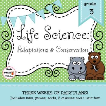 3rd Grade Life Science Unit