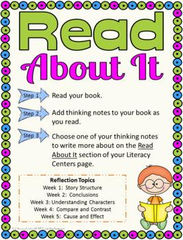3rd Grade Literacy Centers Bundle,  Sets 1- 6