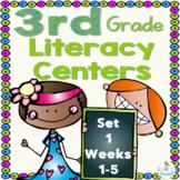 3rd Grade Literacy Centers Set 1 (rdg. skills/strategies, grammar and writing)