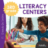 3rd Grade Literacy Centers   Third Grade Hands-On Learning Centers