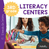 3rd Grade Literacy Centers | Third Grade Hands-On Learning Centers
