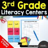 3rd Grade Literacy Centers | Third Grade Literacy Stations