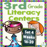 3rd Grade Literacy Centers Set 4 (rdg skills/strategies, g