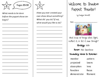 3rd Grade Literacy by Design Trifolds Bundle