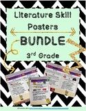 3rd Grade Literature Skill Poster BUNDLE