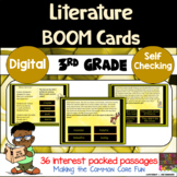 3rd Grade Literature Digital Boom Cards