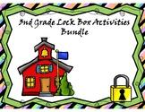 3rd Grade Lock Box Math Bundle