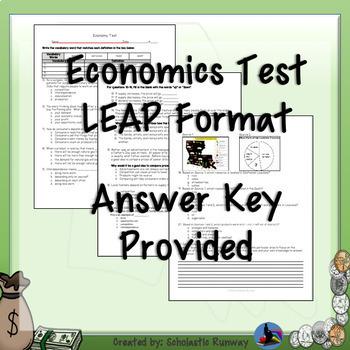 3rd Grade Louisiana Economy Assessment Unit 5: Topic 1