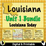 3rd Grade Louisiana Social Studies Unit 1 Maps Geography Culture Symbols
