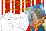 3rd Grade Louisiana Social Studies Interactive Notebook Unit 2