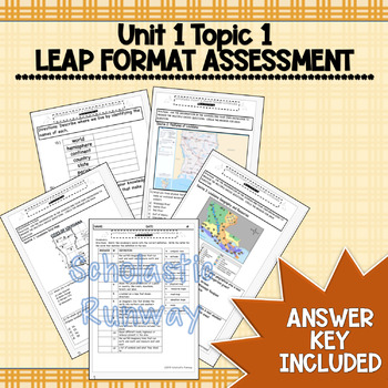 3rd Grade Louisiana History | Unit 1 Topic 1 Map Geography ...