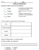 3rd Grade Louisiana Unit 1 Assessment Pack