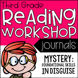 3rd Grade Lucy Calkins Reading Workshop Journals, Mystery