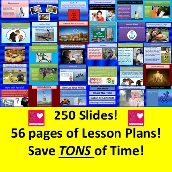 3rd Grade Lucy Calkins Unit 2 Reading ALL SESSIONS Slides Lesson Plans