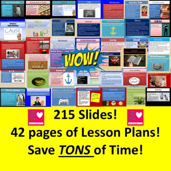 3rd Grade Lucy Calkins Unit 4 Reading ALL SESSIONS Slides Lesson Plans