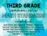 3rd Grade Math Florida Standards - Typed (MAFS)