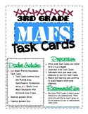 3rd Grade MAFS Review Task Cards (with Bonus Word Problem