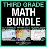 3rd Grade Guided MATH BUNDLE - ALL Standards