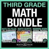 3rd Grade MATH BUNDLE - Guided Math or Math Workshop