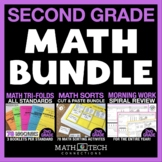 2nd Grade Guided MATH BUNDLE - ALL Standards Bundle