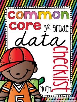 {3rd Grade} MATH Common Core Data Checklists