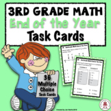 3rd Grade MATH End of the Year Task Cards