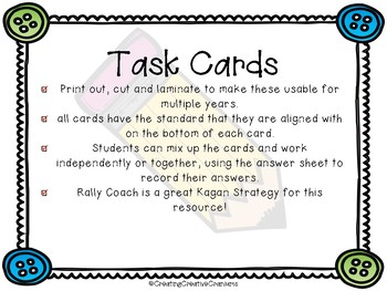 Word Problem & Fluency Cards