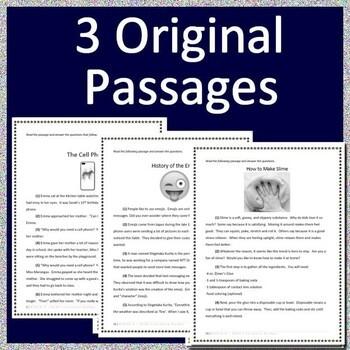 3rd Grade MCA Test Prep ELA Reading Practice Tests Bundle for Minnesota