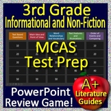 3rd Grade MCAS Test Prep Reading Informational Text and Non-Fiction Review Game