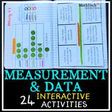 3rd Grade MEASUREMENT & DATA Interactive Notebook