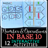 3rd Grade NBT Place Value, Addition & Subtraction Interact