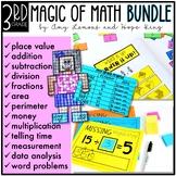 3rd Grade Magic of Math:  THE BUNDLE