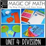 3rd Grade Magic of Math Unit 4:  Division