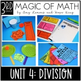 3rd Grade Magic of Math Unit 4:  Division