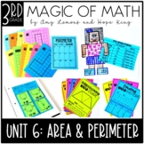 3rd Grade Magic of Math Unit 6:  Geometry, Area, and Perimeter