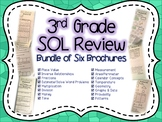 3rd Grade Math SOL Brochure Bundle