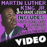 3rd Grade Martin Luther King Jr. Activities & Reading Passages for MLK Day