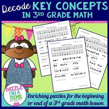 3rd Grade Math Puzzles