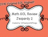 3rd Grade Math 2016 SOL Review Jeopardy 2