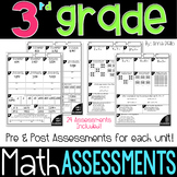 3rd Grade Math ASSESSMENTS